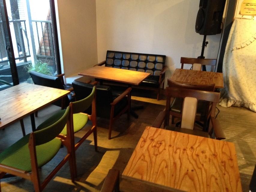 料理教室や、ピアノ演奏などのライブスペースとしても♪「coupe cafe」【東中野】