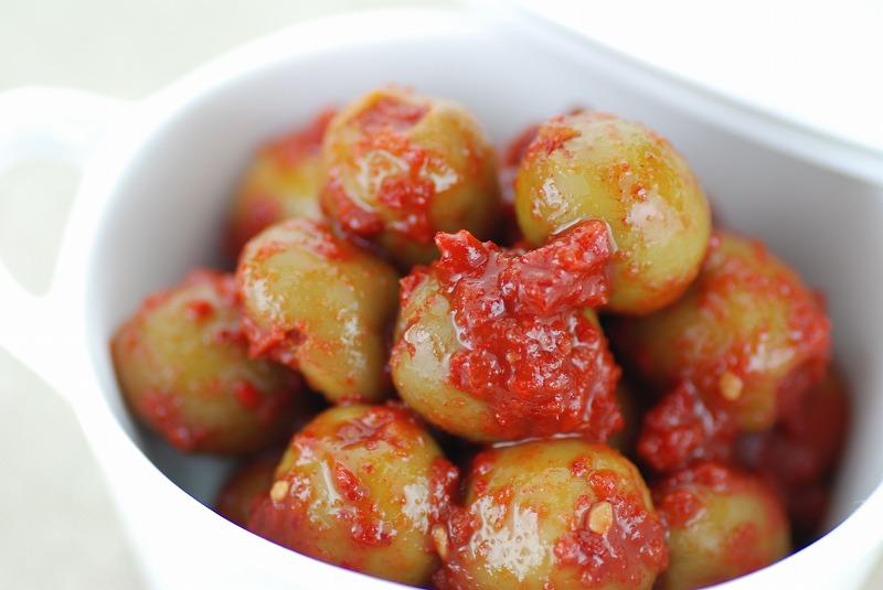 Vegeキムチ 粒ぞろいオリーブ