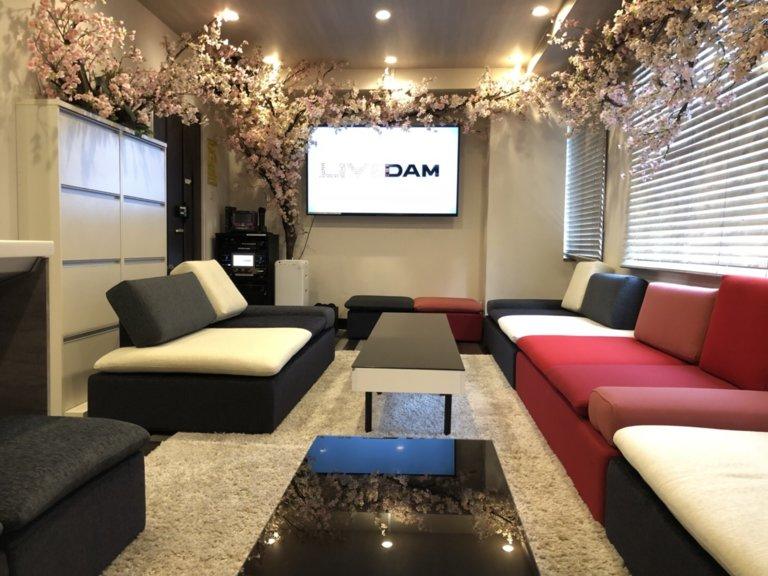 Lounge-R 渋谷でインドア花見