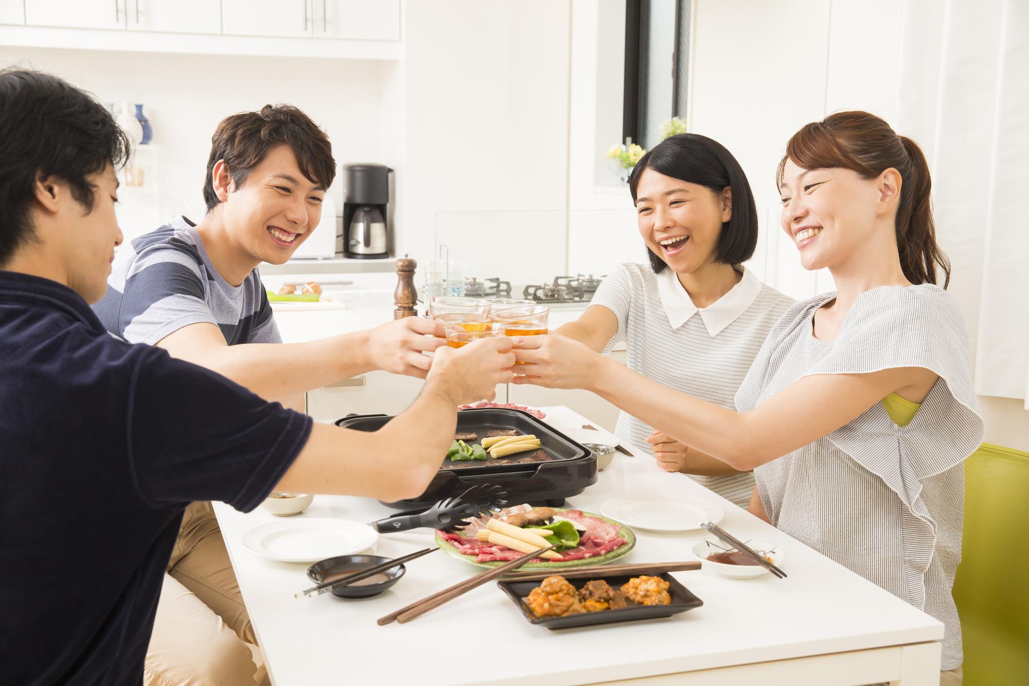 焼き肉パーティーの匂い対策