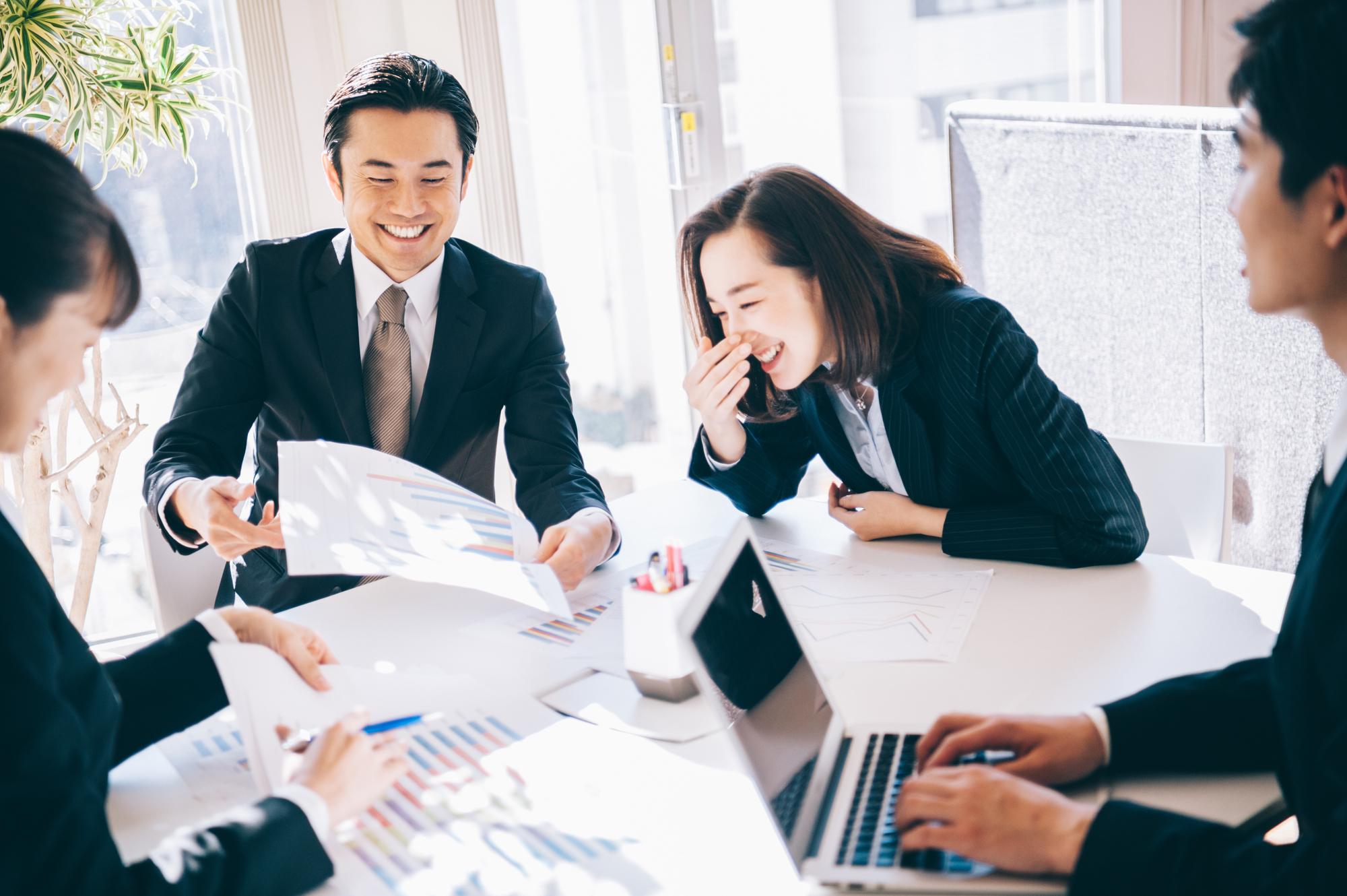 会議を効率よく進める