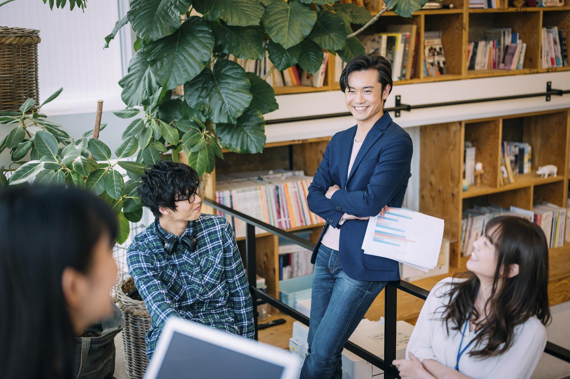 渋谷のオフィス例