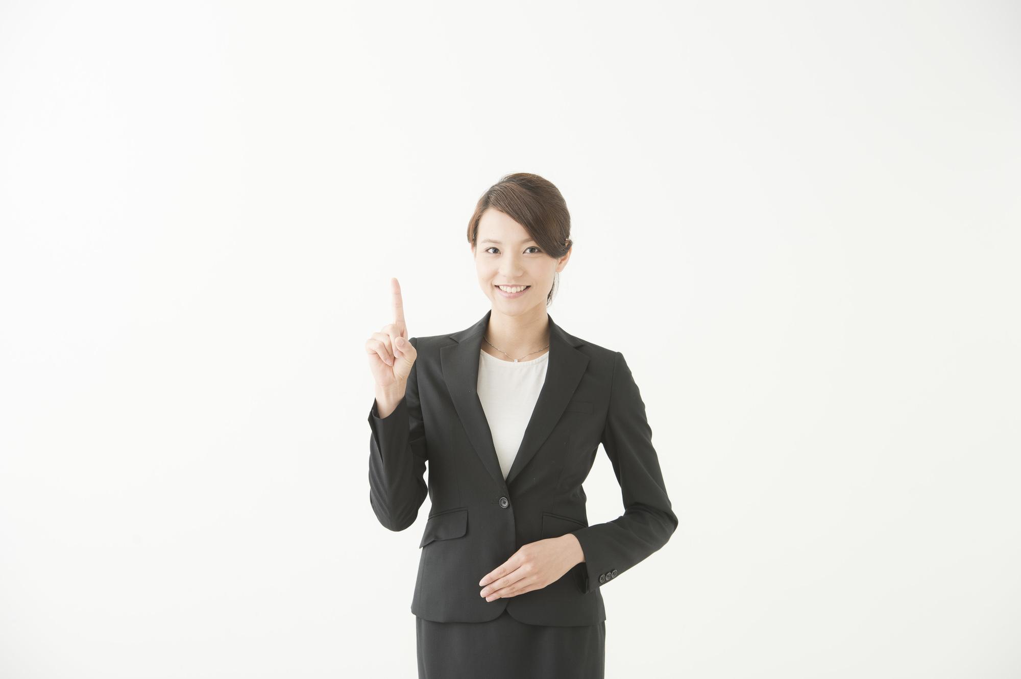 ビジネスマナー講師の女性