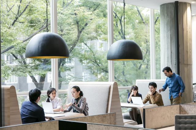 オフィスのフリースペース